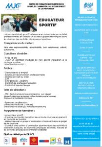 dissertation bpjeps natation